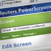 """Reuters """"PowerScreener"""""""